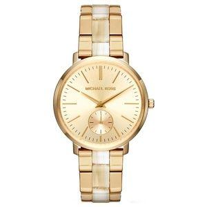 Michael Kors Women's Jaryn Gold Dial Watch